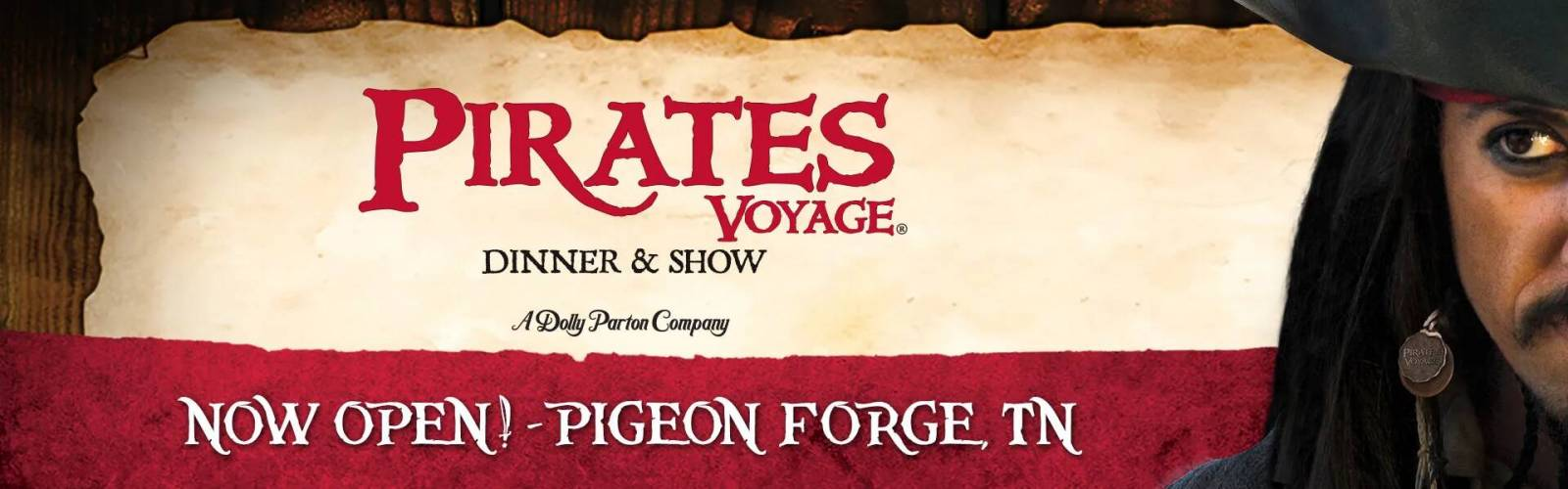 Pirates Voyage Dinner & Show